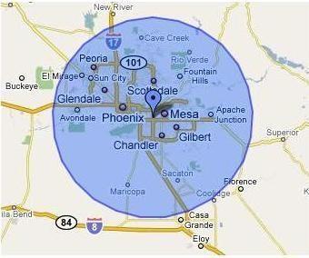 Phoenix Service Area